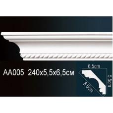 AA005F Плинтус с рисунком под покраску Perfect