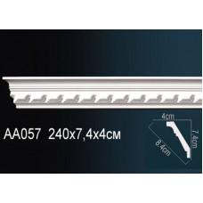 AA057F Плинтус с рисунком под покраску Perfect