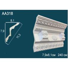 AA318  Плинтус с рисунком под покраску Perfect